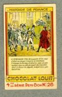 Chromo Louit Histoire France 18 Brumaire 1799 Napoleon Bonaparte Old Trade Card - Louit