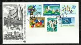 NATIONS-UNIES . FDC . 24 AOÛT 1979 . WIEN . - FDC