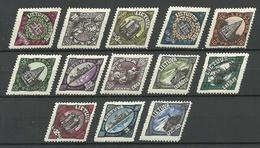 LITAUEN Lithuania 1923 Michel 198 - 208 MNH/MH - Lituanie