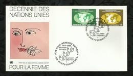NATIONS-UNIES . FDC . DECENNIE DES NATIONS UNIES POUR LA FEMME . 07 MARS 1980  . WIEN . - FDC