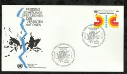 NATIONS-UNIES . FDC . 16 MAI 1980  . WIEN . - FDC
