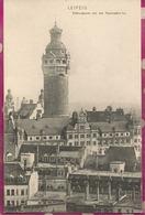 ALLEMAGNE  - LEIPZIG  - Rathausturm Von Der Thomaskirche - Leipzig