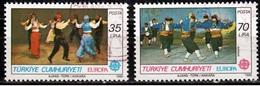 Turkije Mi 2546,2547  Europa Cept 1981 Gestempeld  Fine Used - 1921-... Republiek