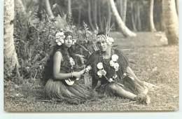 COOK ISLANDS - Rarotonga - Un Couple - Cook
