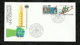 NATIONS-UNIES . FDC  . 21 NOVEMBRE 1980  . WIEN . - FDC