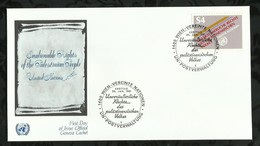 NATIONS-UNIES . FDC  . 30 JANVIER 1981  . WIEN . - FDC