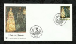 NATIONS-UNIES . FDC . 15 AVRIL 1981  . WIEN . - FDC