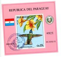 Paraguay 1983-Colibris MI B210***MNH-Gomme Neuve Oblitération CTO - Segler & Kolibris