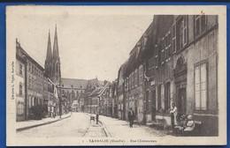 SARRALBE    Rue Clemenceau    Animées   écrite En 1929 - Sarralbe