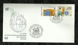 NATIONS-UNIES . FDC  . 13 NOVEMBRE 1981  . WIEN . - FDC