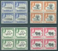 BAHAWALPUR - 1949 - MNH/*** LUXE  -  Yv  18-21 - Lot 19039 BLOC OF 4 - Bahawalpur