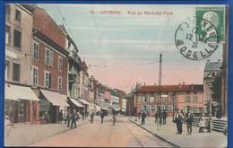 HAYANGE    Rue Du Maréchal Foch   Animées     écrite En 1925 - Hayange