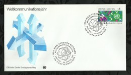 NATIONS-UNIES . FDC . 28 JANVIER 1983  . WIEN . - FDC