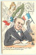 E. L - La Flèche N°166 - Le Grand Poête, Le Grand Patriote François Coppée Qui Vient De Mourir Le 23 Mai 1908 - Marianne - Illustrateurs & Photographes