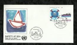 NATIONS-UNIES . FDC . 18 MARS 1983  . WIEN . - FDC