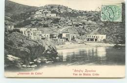 Souvenir De Crète - Vue De La Sfakia - Griechenland