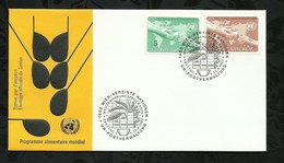NATIONS-UNIES . FDC . PROGRAMME ALIMENTAIRE MONDIAL . 22 AVRIL 1983  . WIEN . - FDC
