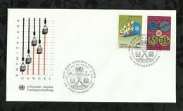 NATIONS-UNIES . FDC . 06 JUIN 1983  . WIEN . - FDC