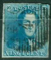 Belgique   2   Ob  B/TB - 1849 Epaulettes