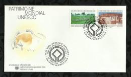 NATIONS-UNIES . FDC . PATRIMOINE MONDIAL UNESCO . 18 AVRIL 1984  . WIEN . - FDC