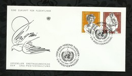 NATIONS-UNIES . FDC . 29 MAI 1984  . WIEN . - FDC