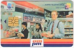 INDONESIA A-222 Chip Telekom - Advertising, Supermarket - Used - Indonesia
