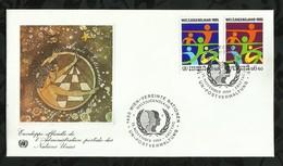 NATIONS-UNIES . FDC . 15 NOVEMBRE 1984  . WIEN . - FDC
