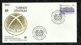NATIONS-UNIES . FDC . 01 FEVRIER 1985  . WIEN . - FDC
