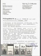 Allenstein Nr. I + II-VI Mit OR,xx,3 Atteste - Deutschland