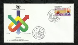 NATIONS-UNIES . FDC . 15 MARS 1985  . WIEN . - FDC