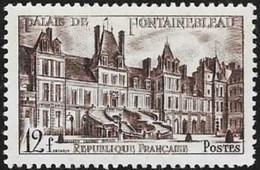 N° 878 FRANCE - Fontainebleau  - 1951 - Francia