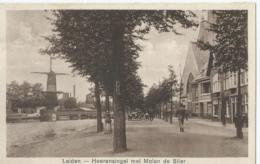 Leiden - Heerensingel Met Molen De Stier - Uitgave J. Sleding - 1927 - Leiden
