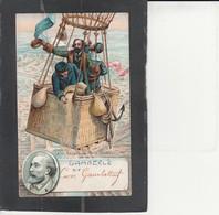 Illustrateurs Politiques - Léon Gamgetta - 1870   Départ De Paris Investi. - Illustrateurs & Photographes