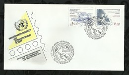 NATIONS-UNIES . FDC  . 22 MAI 1986  . WIEN . - FDC