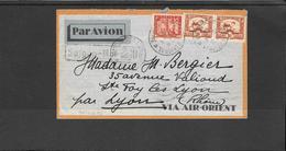 INDOCHINE- Lettre De Saigon A S.te Foy Lyon (ref 1814) - Covers & Documents