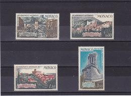 MONACO 1971 MONUMENTS HISTORIQUES Yvert 851-854 NEUF** MNH - Neufs