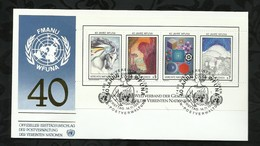 NATIONS-UNIES . FDC . 14 NOVEMBRE 1986  . WIEN . - FDC