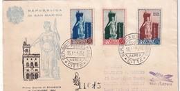 SAN MARINO 1954 FDC - FDC