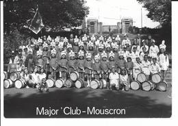 Major'Club Mouscron (carte Photo- Costumes Par Jacques Barbier à Mouscron - Mouscron - Moeskroen