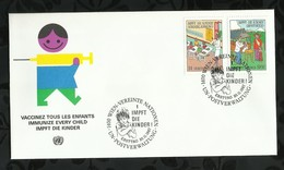 NATIONS-UNIES . FDC . 20 NOVEMBRE 1987  . WIEN . - FDC
