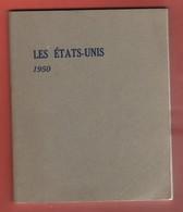 LIVRES FASCICULE HISTOIRE DES ETATS UNIS De 1950 - 80 Pages Imprimerie Georges Lang - Livres, BD, Revues