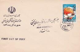1982 IRAN UPU FDC - UPU (Union Postale Universelle)
