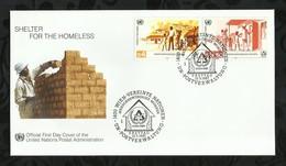 NATIONS-UNIES . FDC . 13 MARS 1987  . WIEN . - FDC