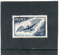 FRANCE    40 F + 10 F    1948   Y&T: PA 23   Oblitéré - Airmail
