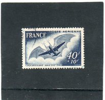 FRANCE    40 F + 10 F    1948   Y&T: PA 23   Oblitéré - 1927-1959 Used