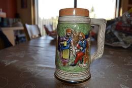 Chope à Bière En Grès - Verres