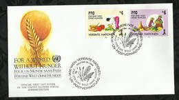 NATIONS-UNIES . FDC . 29 JANVIER 1988  . WIEN . - FDC