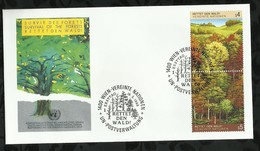 NATIONS-UNIES . FDC . 18 MARS 1988  . WIEN . - FDC