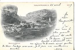 CPA 1899 / 39 LONS LE SAUNIER / Village BEAUME LES MESSIEURS - Lons Le Saunier