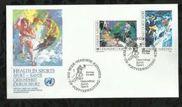 NATIONS-UNIES . FDC . 17 JUIN 1988  . WIEN . - FDC